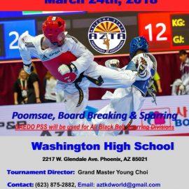 2018 AZ State Taekwondo Championships